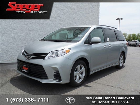 2020 Toyota Sienna Le Toyota Dealer Serving St Robert Mo New And Used Toyota Dealership Serving Near Waynesville Fort Leonard Wood Devils Elbow Mo